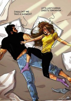 Funny Relationship Comics Turn Small Moments into Epic Scenes