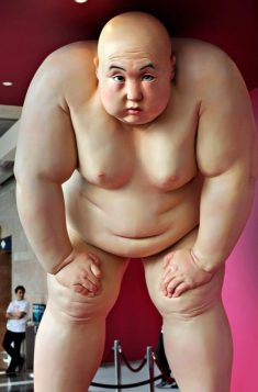 Sumo Sculptures by Mu Boyan